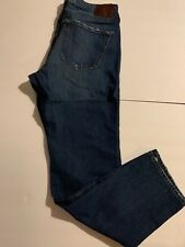 abercrombie fitch jeans Lagdon Slim Factory Ripped 34×32