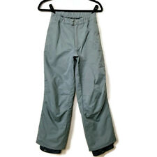 Rip Curl Snowboarding Pants Girls Size L K-12 Gray Nylon Waterproof Seamsealed