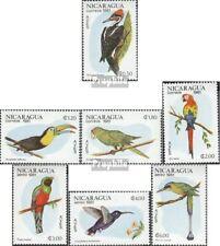 Nicaragua 2217-2223 (compleet.Kwestie.) postfris MNH 1981 Vogels