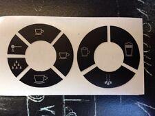 Jura Impressa C70 / 75 Tastensymbol Aufkleber Sticker