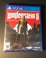 Wolfenstein 2 [ The New Colossus ] (PS4) NEW