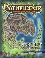 JDR RPG JEU DE ROLE / PATHFINDER CARRYON CROWN POSTER MAP FOLIO