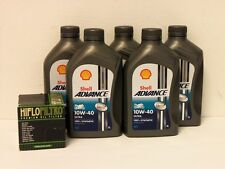 Shell Advance Ultra 4T 10W-40 / Ölfilter Suzuki VL1500 LC Intruder Bj 98 - 09