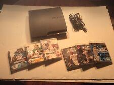 Sony PS3 Slim 320GB Black Console (CECH-3001B) BD Driver Does Not Read Bundle