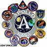 ORIGINAL AB Emblem - APOLLO 1 - 11 - 17 Mission PATCH NASA COLLAGE - USA - MINT