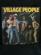 Village People Live And Sleazy NM Record 33RPM LP Vinyl Casablanca 1979