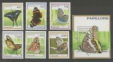Postfrische Briefmarken mit Tier-Motiven aus Benin