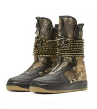 Nike Realtree SF Air Force 1 'Black Camo' Boots Men's Sz 10 AA1128-004 MSRP $200