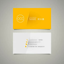 90*54mm  200pcs Business Cards - Full Color /  Matte / 2 Sided /  Rectangle / 300gsm Art Paper Free Shipping