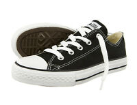 Converse Chuck Taylor All Star Black White Ox Kids Boy's Girl's Size 11-3 New