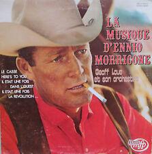 """Vinyle 33T Geoff Love et son orchestre """"La musique d'Ennio Morricone"""""""