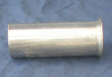 "Exhaust connector pipe flared end - 304 Stainless steel 63mm (2½"")"