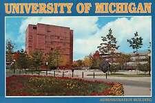 University of Michigan Administration Building, Ann Arbor Campus, MI -- Postcard