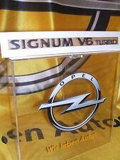 "Original Opel Schriftzug Aufkleber "" Signum V6 TURBO "" 5177426"