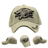 Outdoor US Military Hunting Embroidered Navy Seal Hat Baseball Cap Sunhat Khaki