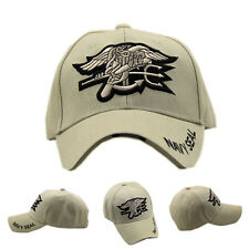Outdoor Hunting Embroidered Navy Seal Hat Baseball Cap Sunhat Khaki