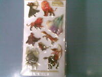 CHRONICLES OF NARNIA LION  WITCH WARDROBE PUFFY STICKERS CHILDREN NEW+SEALED