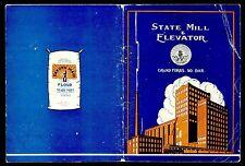 CA 1930 STATE MILL & ELEVATOR DAKOTA MAID FLOUR GRAND FORKS ND HISTORY COOK BOOK