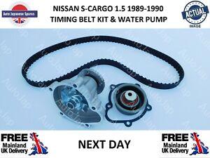 FITS NISSAN S-CARGO 1.5 1989-1990  TIMING BELT & TENSIONER & WATER PUMP