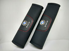 Pair Car Seat Belt Pads Shoulder Strap Cushion Covers For BMW