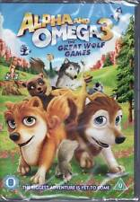 Alpha and Omega - The Great Wolf Games - DVD - Brand New & Sealed