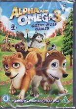 Alfa y Omega - The Great Juegos De Lobo - DVD - Nuevo Precintado
