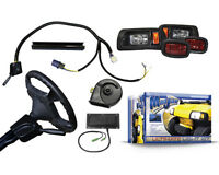 Club Car DS Light Kit w/ Turn Signal Horn & Brake Lights- Fits 1993-Up