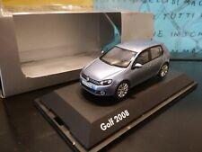 1/43 Schuco VW Golf 6 VI 5 door PROMO BOX light blue blau bleu azzurro blu