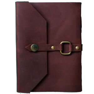 Designer Leather Handmade Paper Journal Diary or Notebook, Personal-Professional