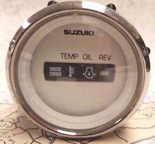 """Suzuki 99105-80108 Monitor Gauge 2"""" -Temp/Oil/Rev"""