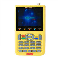 V8 Finder 3.5 inch LCD HD Fully DVB-S2 FTA Satellite Finder MPEG-2 MPEG-4 New