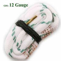 12 GA Shotgun Bore Snake Gun Cleaner Bore Snake Cleaning Kit For Rifle Pistol B