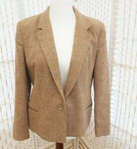 Pitlochry Women's Shetland Wool Tweed  Country Style Jacket Made in Scotland S12