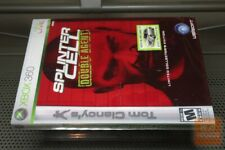 Splinter Cell: Double Agent Limited Collector's Edition (Xbox 360 2006) SEALED!