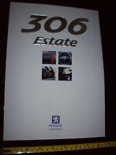 PEUGEOT 306 Break 1999 voiture brochure prospekt Comme neuf État Neuf