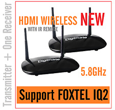 2017 Digimate New 5.8GHz HDMI WIRELESS AV Sender Transmitter Receiver For IQ2_