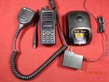MOTOROLA XPR7580 800/900 MOTOBRBO Portable RADIO AAH56UCN9KB1AN COMPLETE PKG B5