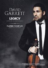 DAVID GARRETT - DVD - LEGACY - LIVE IN BADEN-BADEN