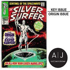 Silver Surfer #1 (Marvel) VG - VG+ HIGH RES SCANS!