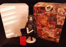 "11"" Duncan Royale Black Peter Santa Figurine w Hang Tag 1983"