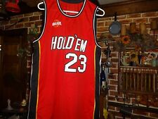 TEXAS HOLD'EM POKER BASKETBALL JERSEY-RARE