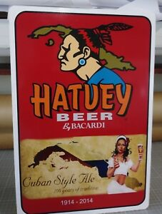 "Hatuey Beer Cuban Style Ale Aluminum Sign  12"" x 18"""