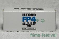 3 rolls ILFORD FP4 125 Plus 120 B&W Film Medium Format