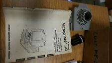 Manual, Lens Holder & F04 (29.0x) Lens for Canon Mp-60 Microfilm Printer