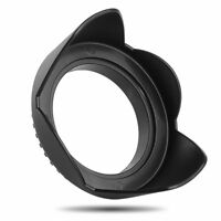 New 62mm  Flower Shape Lens Hood Screw Petal For Canon Nikon Sony Olympus FUJI