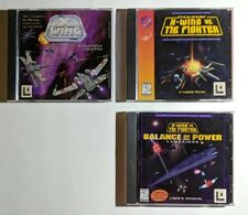 Star Wars PC game lot: X-Wing + X wing vs. TIE Fighter + Balance of Power xpac