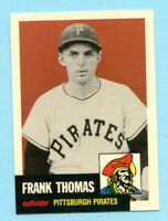 1953 Topps Archives #283 Frank Thomas - Pittsburgh Pirates