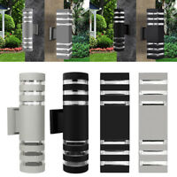 Outdoor LED Exterior Wall Light Sconce Waterproof UP Down Dual Head Wall Lamp