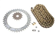Yamaha Warrior 350, 1989-2004, More Speed Gold O-Ring Chain and Sprocket Set