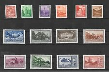 LIECHTENSTEIN 1934 LANDSCAPES MINT SET